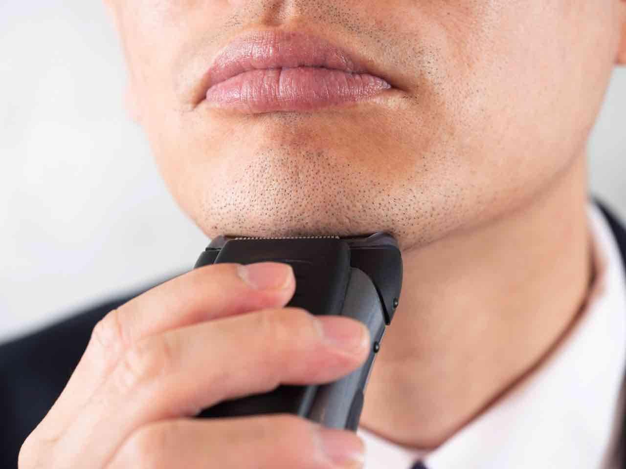 ひげ剃り,敏感肌